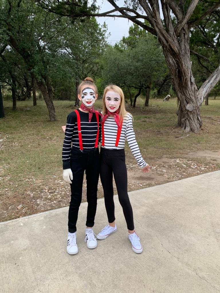 Easy DIY Costume -  Mime