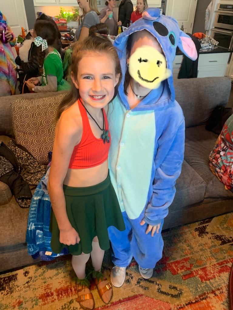 Easy Lilo  or Moana Costume